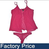 Free Shipping 2013 top hot sexy fasion women Floral lace g-string thong bikini brief panty set corset couple slip dress sets