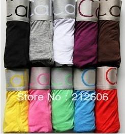 High Quality Men's Underwear Boxers Cotton Underwear Men Underwear Boxer Shorts Mix Order with Retail Bag