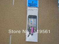 Brand New Retail Box For Capacitive Screen Stylus Pen 50PCS/LOT HongKong Post Free Shipping