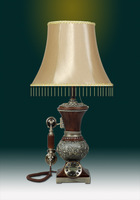 Fashion Nobility Vintage Old Fashioned Antique Home Decoration Gift Antique Table Lamp Telephone Hands-Free