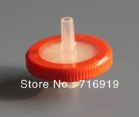 NEW Hot Syringe filter PTFE for HPLC Sample Preparation or IC Sample Preparation, Diameter 25mm X Pore Size 0.45um