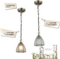 FREE SHIPPING 2PCS copper solder glass pendant light fashion pendant light classic lighting lamps Pendant Lights