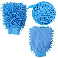 Ultrafine fiber chenille car wash tool multifunctional car washing gloves cleaning gloves cleaning gloves single face 70g