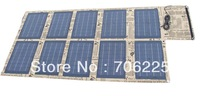 100W Foldable Solar Panel solar cells with mini USB Voltage Controller to charge Laptop mobile phones and battery chargers