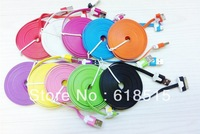 Hot selling!!!Noodle USB Data Charger Cable For The New iPad 3 3G 2 iPhone 4 4G 4S iPod 3 M