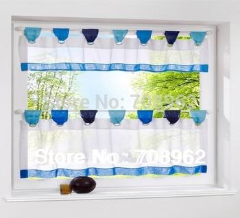 1pcs new fashion Color suspenders Kitchen curtains 60*180 wholesale-price:8.96