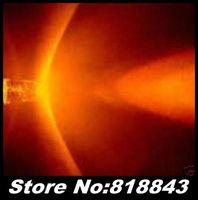 1000pcs/Lot New 5mm Round  Ultra Bright Orange/Amber Water Clear LED Light  Lamp