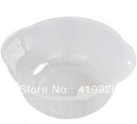 Free Shipping! Fruit Basket Plastic Drain Basket