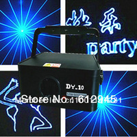 Fedex free shipping Single blue animation laser show light