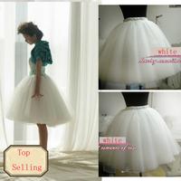 NEW Womens Gauze Tulle Balley Pincess TUTU Skirt Black  White Pink Champagne Yellow Sky Blue Free Shipping Wholesale & Retail