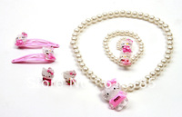 Free Shipping,hello kitty jewelry cheap,hello kitty wholesale,hello kitty Mascot costume with free jewelry gift-12set/lot