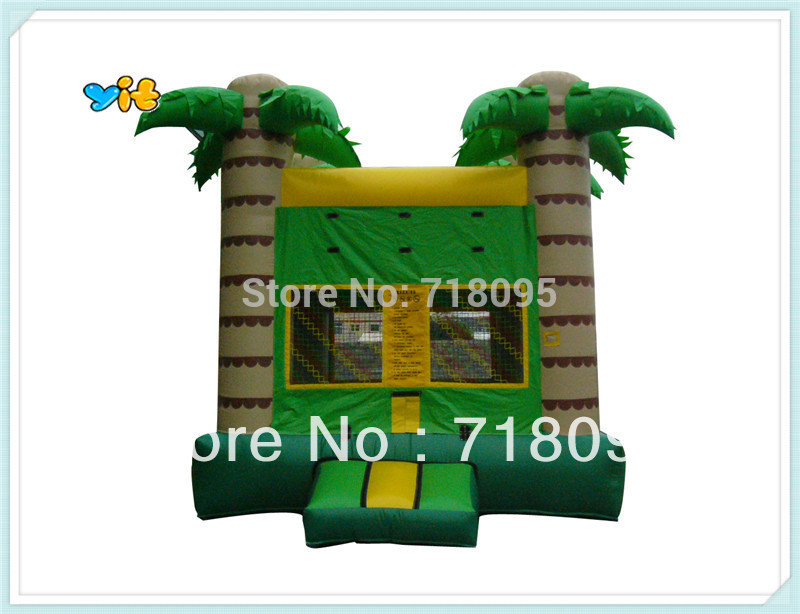 tropical tree inflatable castle, jungle jumper(China (Mainland))