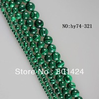 "6MM malachite  beads A quality.16""one  string  free shipping"