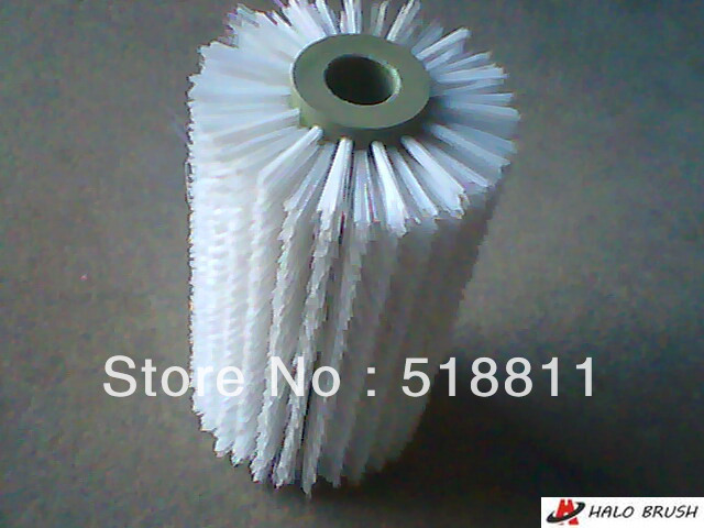 Roller brush Industrial brush rotary brush spiral brush cylinder brush(China (Mainland))
