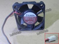 Free Shipping For SUNON KD0504PFB3-8 Server Square Fan DC5V 0.4W 40x40x10mm 2wire 2pin