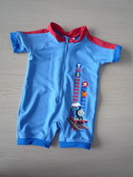 Free shipping nylon/spandex baby kids on piece surf swimwear Rash Guards  bathsuit clothing