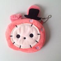 10PCS Kawaii Sentimental Circus Master Rabbit Plush Coin Purse & Wallet Pouch Bag Case  Pendant Women Makeup Storage BAG Handbag