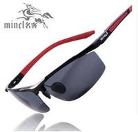 Driving mirror male sunglasses male sunglasses polarized sunglasses aluminum magnesium sun glasses