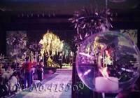 European crystal glass candlestick romantic hanging candleholder