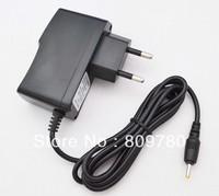 High quality New 50PCS AC 100V-240V Converter Adapter DC 5V 2A  Power Supply EU Plug DC 2.5mm x 0.8mm For Tablet PC