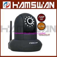 1x Foscam FI9821W Black HD H.264 Wireless Web IP Security Camera IR 1280*720 HD