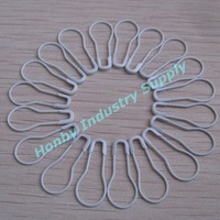 DHL,TNT Free Shipping Pack of 2000pcs Craft Making Decorative White Pear Safety Pins