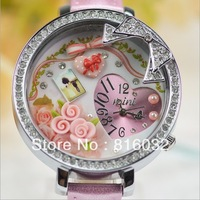 FREE SHIPPING South Korea Handmade Miniature Watch 669