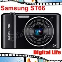 ST66 Brand New 100% Original Genuine Samsung ST66 16.1 MP Digital Camera with 5x Optical zoom