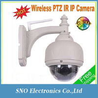 New onvif 2013 New & H264 720p Hot Wifi PTZ IR waterproof outdoor/indoor Mini speed Dome IP Camera