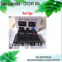 Wholesale Brand New Digital PWM 30A Solar Regulator Controller 12V/24V Auto Switch For Solar Panel
