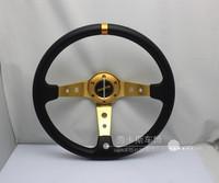 Momo steering wheel automobile race steering wheel PU steering wheel 14 steering wheel