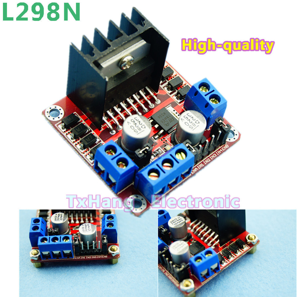 Stepper Motor Drive Controller Board Module L298N Dual H Bridge DC free shipping(China (Mainland))