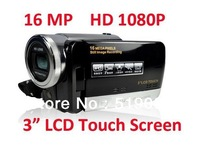 "Free shipping which video camera best high quality professional Digital Video Camera HD 1080P support to 64G 3"" HD-130"