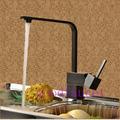 Hot Sale ! NEW Oil Rubbed Bronze Kitchen Faucet Vessel Mixer Tap Single Handle Swivel Spout
