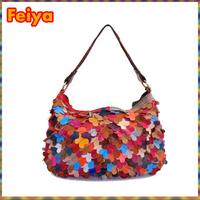 Free Shipping Girls Designer handbag Messenger bag Women Fashion Patchwork ol Small bags Genuine Leather A682