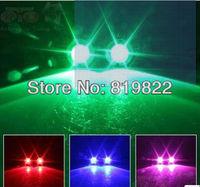Motorcycle flashing lights refires super bright strobe light high power lens aluminum alloy shell multicolor Free shipping