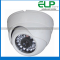 600TVL cctv Indoor night vision IR dome camera white color