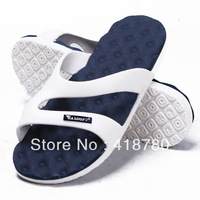 Lovers slippers indoor home slippers shoes casual sandals Anti-skid massage type slippers