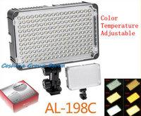 Free Shipping!!Aputure Amaran AL-198C Camera Camcorder LED Video Light Color Temperature Adjust