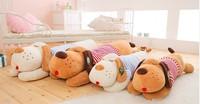 New Stuffed Plush Toys Dolls Large Papa Dog Wear Clothes Cute Shar pei dog Big head Pillow Birthday gift for Girl Quality 819