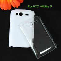 DIY Wildfire S Protector Clear Cover Crystal Case For HTC Wildfire S G13