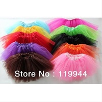 Beautiful Baby Girl 3 Layers Tutu Skirts Girls' Summer Sexy Skirts Baby Tutus 10 Colors To Choose 6pcs/lot Free Shipping