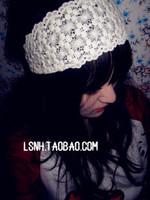 Korean 11style Beige flower lace headband hair band elastic headbands head bands hair accessories for women girls children baby