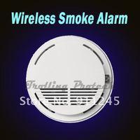 433mhz  2262 code  Wireless Smoke Detector Fire Alarm Sensor for GSM Alarm System Accessory