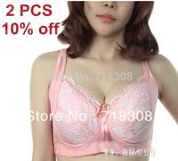 Plus Size Bra Free Shipping 36-46 DEF Cup Women Fashion Bra,Sexy Bra,Fashion Brassiere Lace Bra, Push Up Underwear
