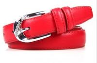 Genuine leather belt  women's  fashion belt