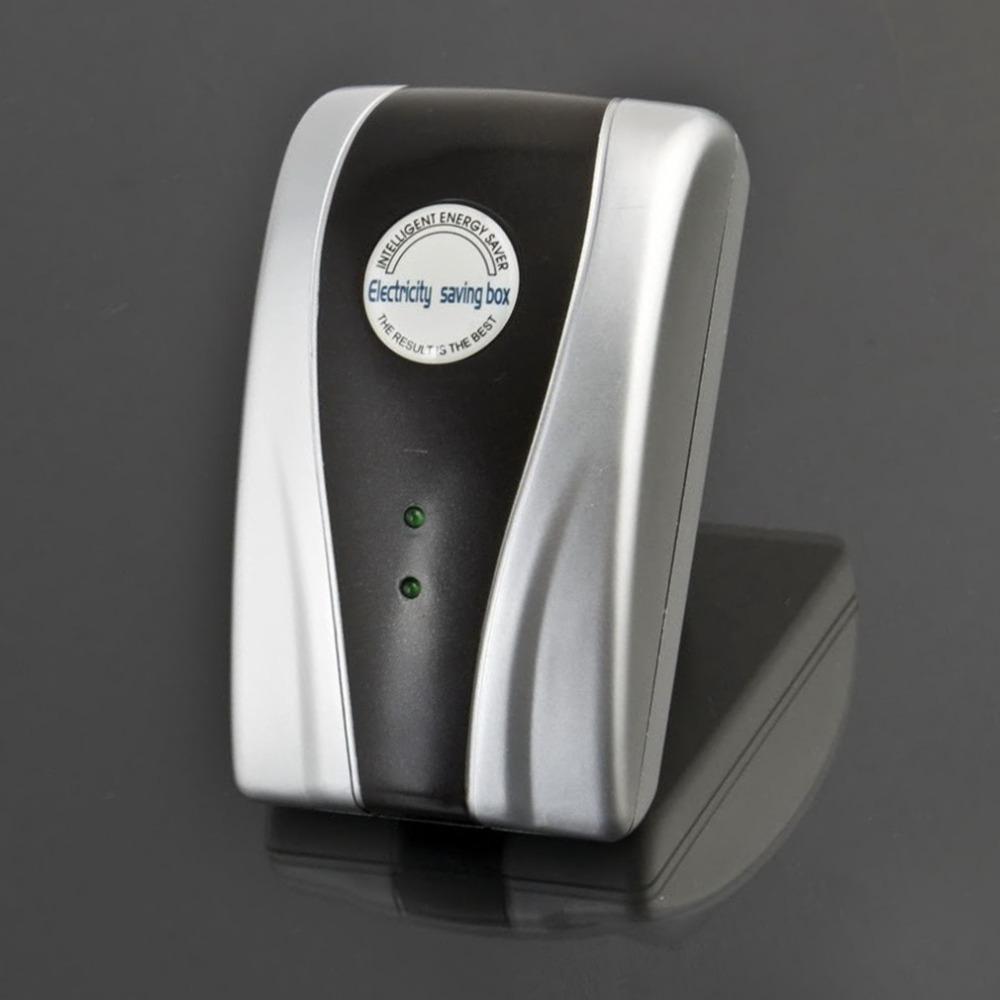 DropShipping 1Pcs Energy Saver EU Plug 90V-240V New Type Power Electricity Saving Box(China (Mainland))