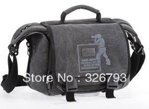 Hot sale!Free shipping+Wholesale Jenova one shoulder camera bag professional slr camera bag canvas bag one shoulder 01308(China (Mainland))