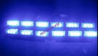 4X9LED 36SMD LED Emergency Vehicle Strobe Lights Warning Car Warning Lamp BLUE