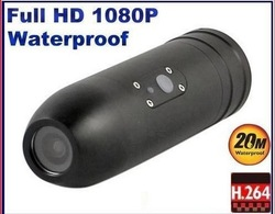 Bullet Pro HD1080P 20M Waterproof Sport Helmet Action Camera Camcorder Mini DVR(China (Mainland))